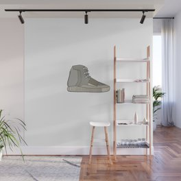 Yeezys 750 - Brown White Wall Mural