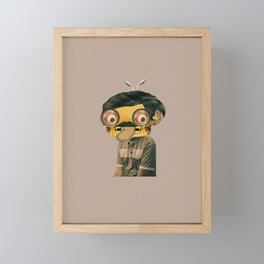 Daily Monster #2 Framed Mini Art Print
