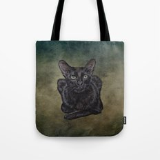Cat Painting 16 Tote Bag