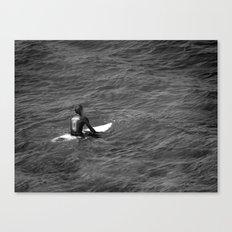Surfer, Fuerteventura. Canvas Print