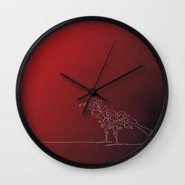 Paisley Bird Wall Clock
