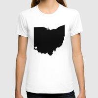 cincinnati T-shirts featuring Cincinnati, Ohio, Home by Laura's Delirium