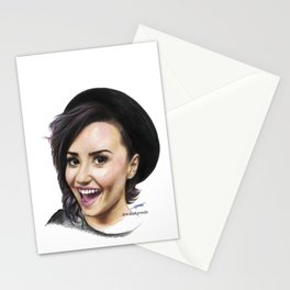 Demi Coloured Pencil Drawing Stationery Cards