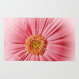 Pink Gerbera Daisy at Barthel's Farm Market Rug