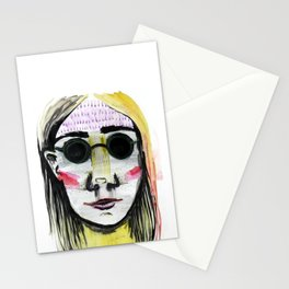 Head Shot #4 Stationery Cards