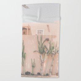 Vintage Los Angeles Beach Towel