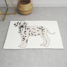 Dalmation dog Rug