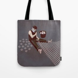 The Hastag Net Tote Bag