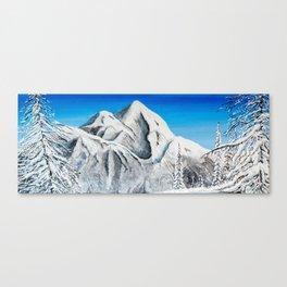 Pyramid Mountain Canvas Print