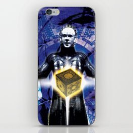 "Pinhead Hellraiser ""You Opened The Box"" iPhone Skin"