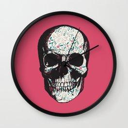 R-Skull Wall Clock