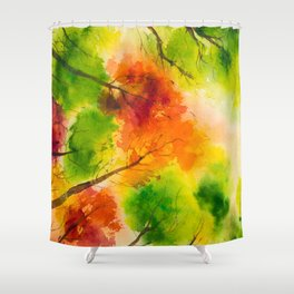 Autumn scenery #13 Shower Curtain