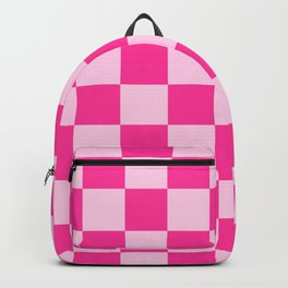Double Pink Check - more colors Backpack