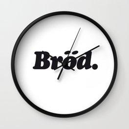 Bröd Wall Clock