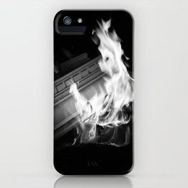 Still (b&w) iPhone Case