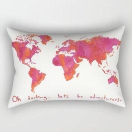 Oh, Darling Rectangular Pillow
