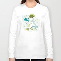 roller derby Long Sleeve T-shirts featuring Roller Derby Rumble by Wild Notions