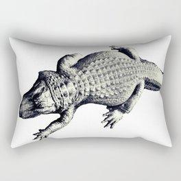 Alligators Love The Sun Rectangular Pillow