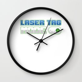Tag Game Laser Guns Fire Shooting Infrared Beam Laser Tag Mode On Funny Gift Wall Clock
