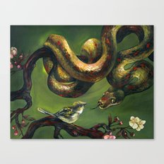 Unlikely Friends Canvas Print