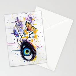 """""""The last snow"""" Stationery Cards"""