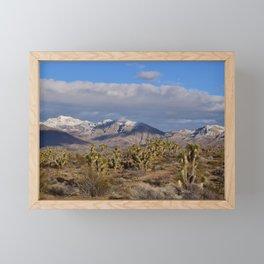 Winter in the Desert Framed Mini Art Print