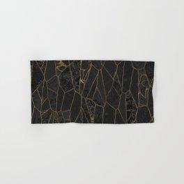 Golden Crackle Hand & Bath Towel