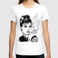 tiffany T-shirts featuring Tiffany by AdamWillis