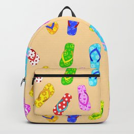 Flip Flops Pattern Backpack