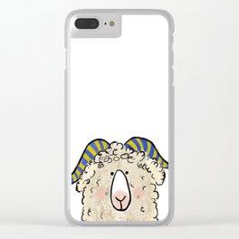 Naval Academy Ram Clear iPhone Case