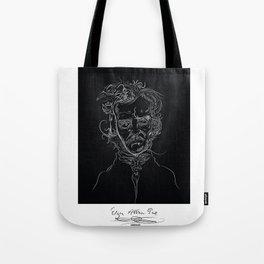 edgarBlack Tote Bag