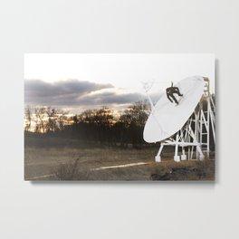 Bam Margera - Satellite Sunset Metal Print