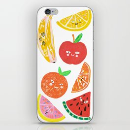 Eat fruits or they will eat you iPhone Skin