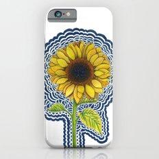Sunflower Drawing Meditation Slim Case iPhone 6s