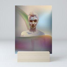 portrait in the water Mini Art Print