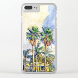 North Park Clear iPhone Case