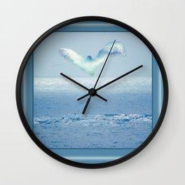Protected Bay Wall Clock