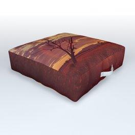 As the Sun Sets in the Heartland Outdoor Floor Cushion
