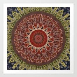 Better than Yours Colormix Mandala 11 Art Print