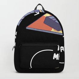 This Is A Magazine This Is A Clip tee. Backpack