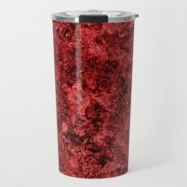 Lava And Blood Travel Mug