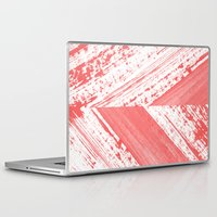 coral Laptop & iPad Skins featuring CORAL by LEEMO