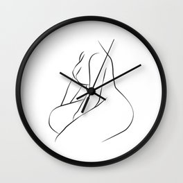 Body Wall Clock