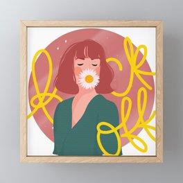 F*** Off Framed Mini Art Print