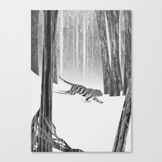 Martwood Tiger Canvas Print