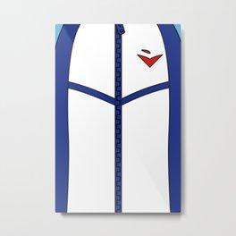Free Iwatobi Swim Club Team Jacket Metal Print