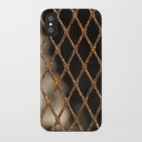 cage iPhone & iPod Cases featuring Cage by Bruce Stanfield