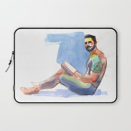 ELI, Semi-Nude Male by Frank-Joseph Laptop Sleeve