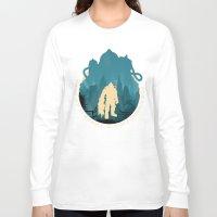 bioshock Long Sleeve T-shirts featuring Bioshock 2 by Bill Pyle