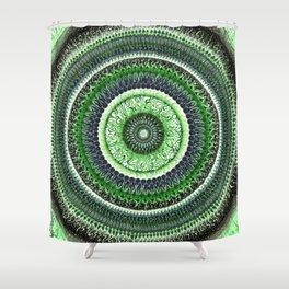 Living Forest Mandala Shower Curtain